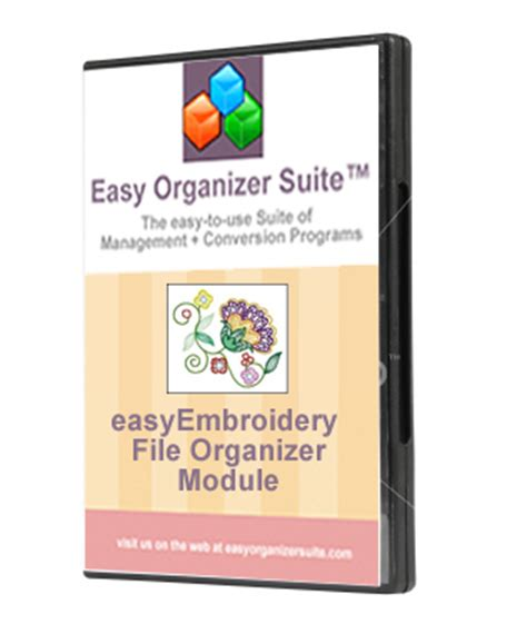 embroidery design organizer software free easy organizer suite easyembroidery file organizer