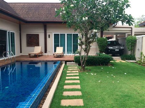 3 bedroom villas in phuket ban5876 charming 3 bedroom villa in a village in bangtao