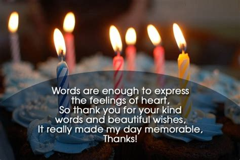 Saying Thank You For Birthday Wishes Quotes Thanks For Birthday Wishes Quotes Messages And Images