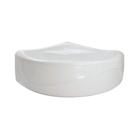 round corner bathtub aquatica purescape 315 5 2 ft acrylic center drain neo
