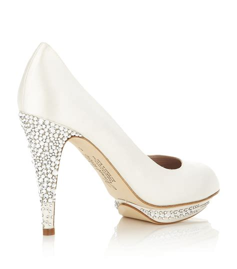 White Wedding Shoes by White Wedding Shoes Ideal Weddings
