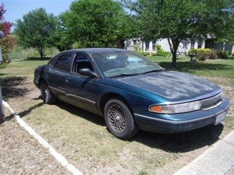 how cars engines work 1994 chrysler new yorker on board diagnostic system sell used 1994 chrysler new yorker base sedan 4 door 3 5l in new braunfels texas united states