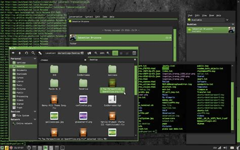 themes for windows 7 matrix dark matrix theme download linux softpedia linux