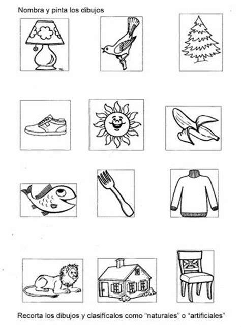 imagenes de elementos naturales y artificiales primer curso 1er ciclo educaci 211 n primaria elementos