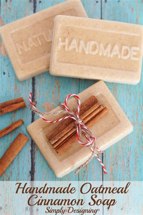 Handmade Presents - handmade oatmeal cinnamon soap