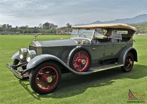 rolls royce 1920 1920 rolls royce silver ghost pall mall dual windscreen tourer