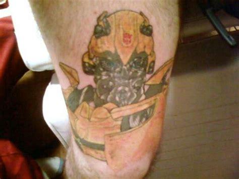 biomechanical transformer tattoo 16 bumblebee transformer tattoos