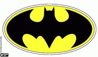 escudo batman colouring pages