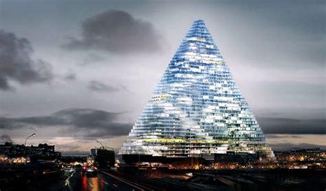 tour en verre de londres 2197 la tour triangle unibail une pyramide de verre aux