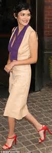 Aurey Blouse N1 3 tautou attends mood indigo premiere in pencil dress daily mail