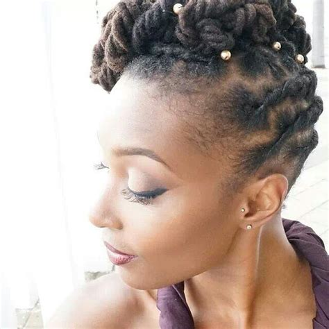 Wedding Hairstyles For Locs by Wedding Styles For Hair And Locs Offbeat