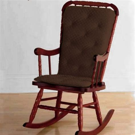 baby doll bedding heavenly soft adult rocking chair cushion pad set chocolate ebay