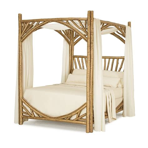 gold canopy bed rustic canopy bed 4280 queen in dazzling gold leaf