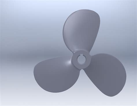 how to draw a boat propeller in solidworks screw propeller 3d cad model library grabcad