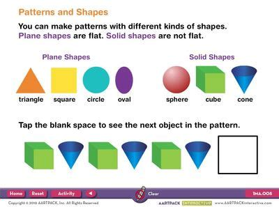 shape pattern interactive patterns