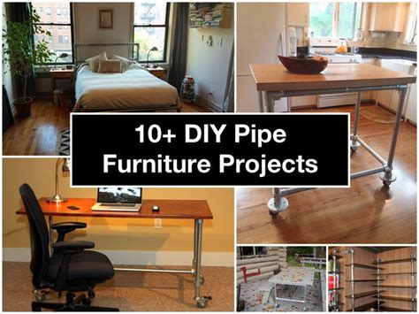 diy furniture projects 10 diy pipe furniture projects for the home pinterest