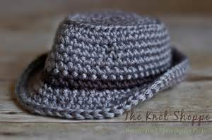 Baby fedora bucket fisherman s hat crochet hat photography prop