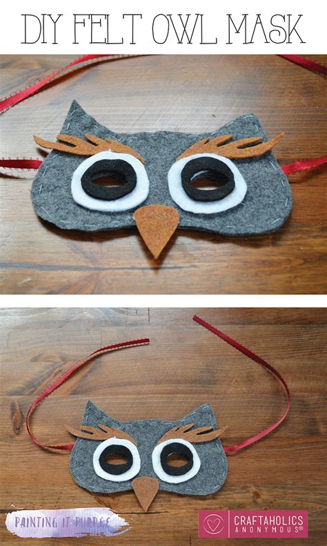 diy easy mask craftaholics anonymous 174 diy owl mask