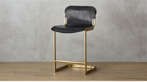 Cb2 Counter Stools by Rake Brass 24 Quot Counter Stool Cb2