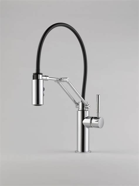 Articulated Kitchen Faucet Articulating Solna Faucet Brizo Makes One Of Our Favorite Kitchen Sink Fittings See Our Guide