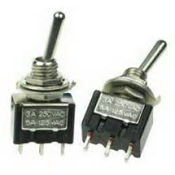 mini toggle switch spdt on off on
