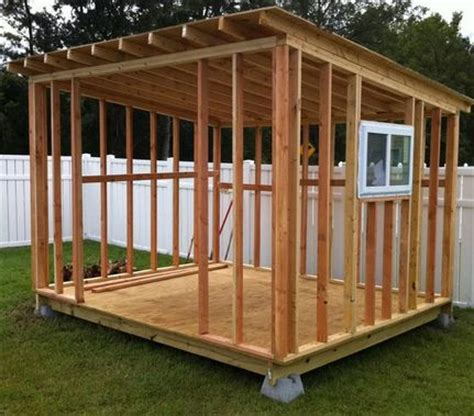 Shed Frame Design by 17 Best Images About Storage Shed Plans On