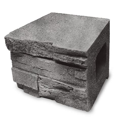 shop allen roth bellmare gray shop allen roth gray charcoal flagstone retaining wall