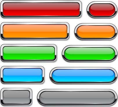 web layout button free download vector web buttons free vector download