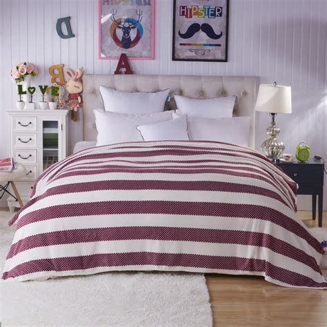 red striped comforter high quality red white striped comforter promotion shop