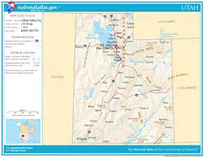 road map state utah state maps interactive utah state road maps state