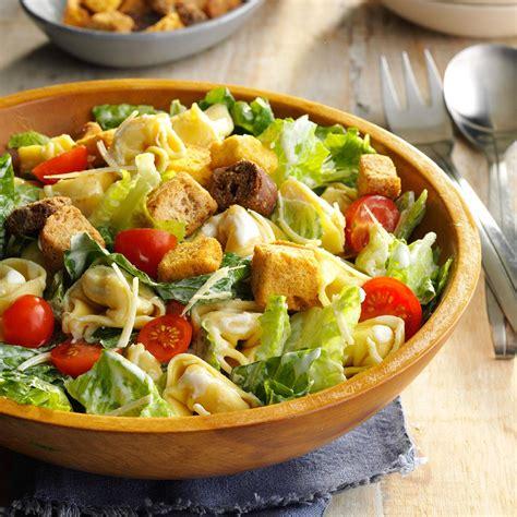 best ceasar salad recipe tortellini caesar salad recipe taste of home
