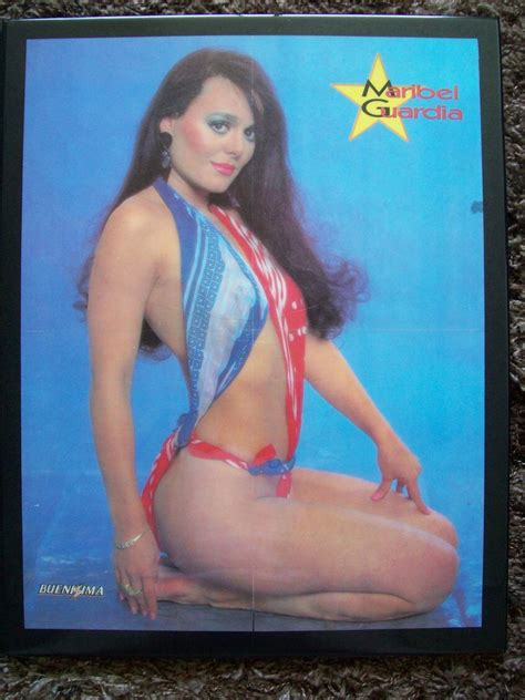 Calendario Maribel Guardia Revista Buenissima Maribel Guardia Posters Poliester