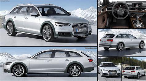 Audi A6 allroad quattro (2015) pictures, information & specs