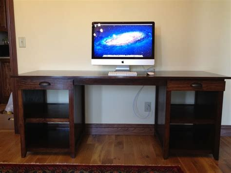 build your own computer desk build your own computer desk plans woodworking projects