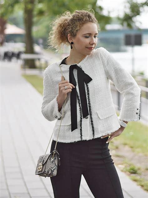 zara metropolis the white jacket chanel lookalike from