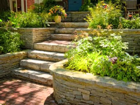 Terraced Backyard Landscaping Ideas Small Home Terraced Garden Ideas