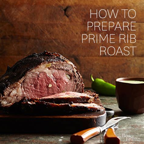 how to prepare prime rib roast