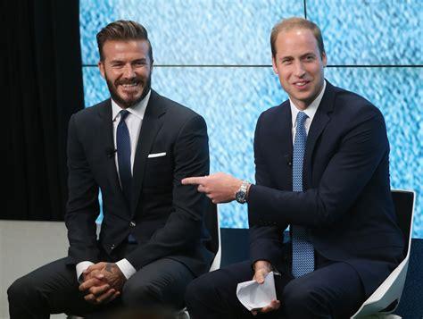 David Beckham Is Prince Charming by 貝克漢姆向威廉王子夫婦傳授 育兒經 凱特王妃 大紀元