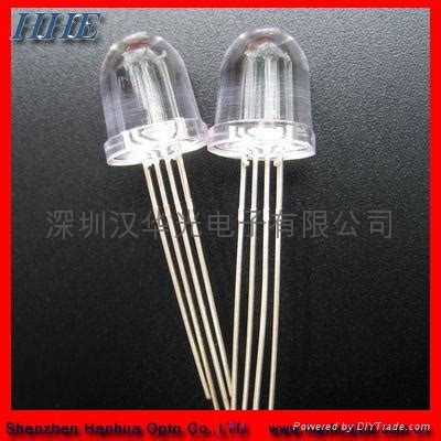 led diode positive leg f8 legs were positive color led l bead transparent d8 hhe china manufacturer
