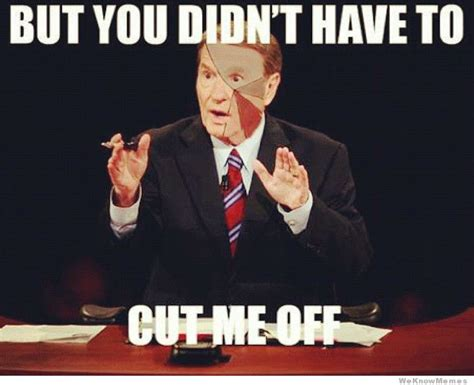 Memes Debate - jim lehrer from tonight s debate meme weknowmemes