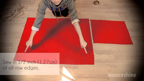 How To Make A Cape Out Of Paper - diy hooded costume cloak cape how to