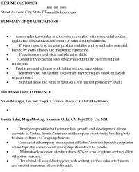 Wine Club Manager Sle Resume by Sle Sales Resume Resume Express