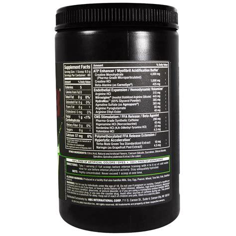 razor 8 creatine allmax nutrition razor 8 pre workout energy drink with