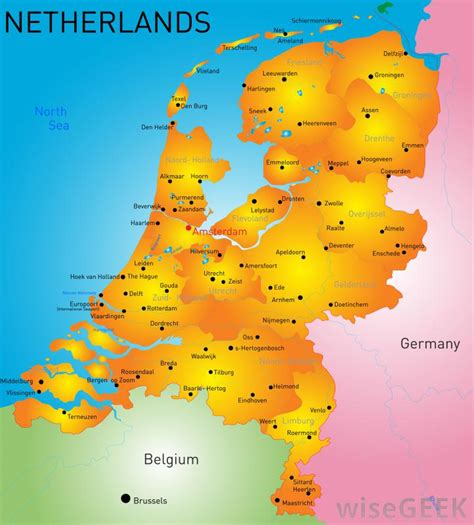 netherlands surrounding countries map which countries legalized euthanasia with pictures