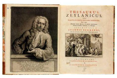 supplement thesaurus burman johann thesaurus zeylanicus zeylana inter omnia