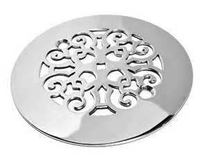 Charisma Rugs Classic Scrolls No 4 Shower Drain Traditional Showerheads And Body Sprays Other Metro