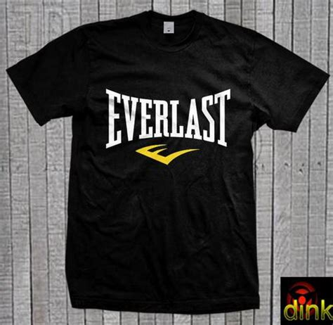 Kaos Everlast A dinomarket pasardino kaos everlast logo boxing