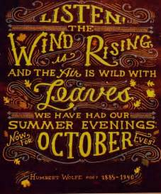 Thanksgiving fall autumn quotes sayings humbert wolfe