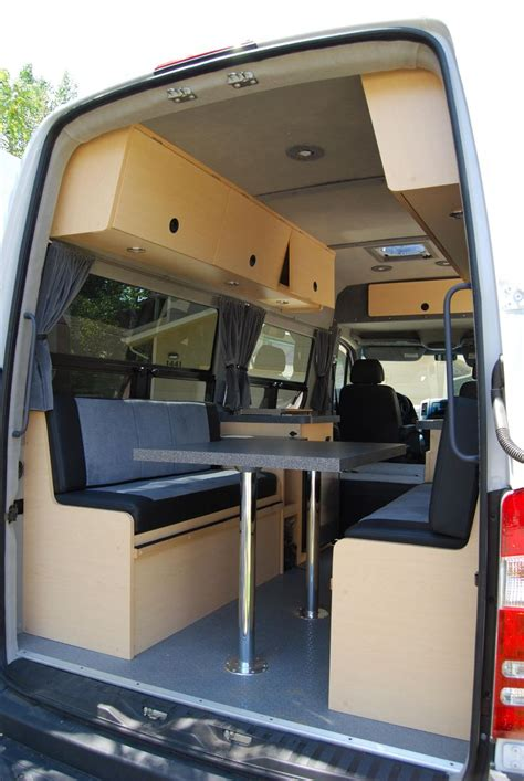 Four Winds Travel Trailer Floor Plans by Sprinter Conversion Bed Google Search Camper Van