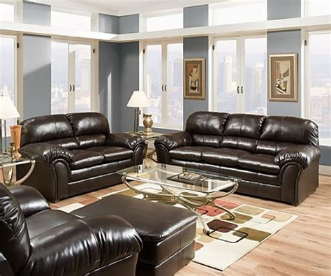 simmons living room set simmons upholstery riverside bonded leather 3 piece sofa
